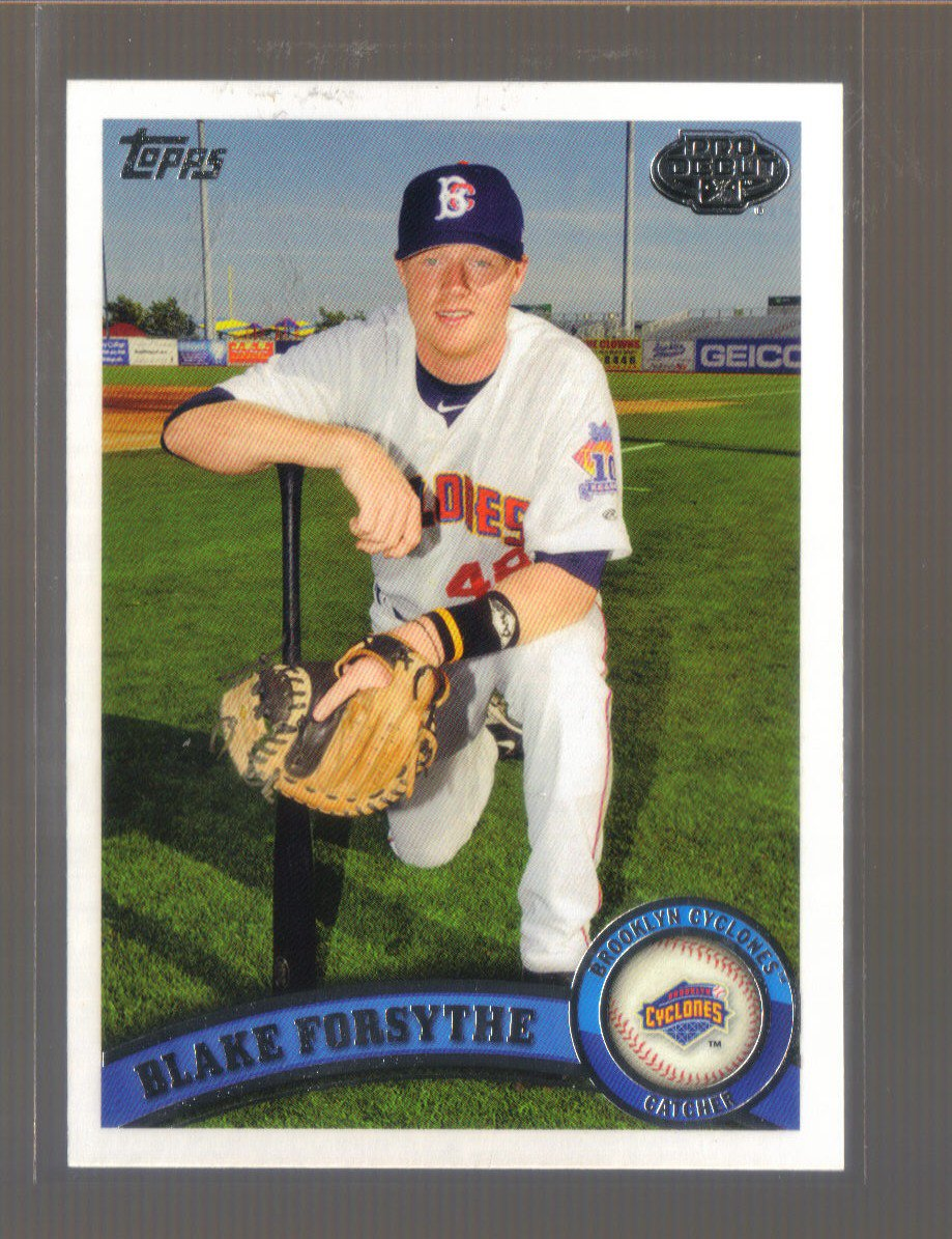 2011 Topps Pro Debut  #236  BLAKE FORSYTHE   Mets