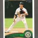 2011 Topps Pro Debut  #277  RYAN PINEDA   A's