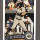 2011 Topps Pro Debut  #303  HUNTER MORRIS   Brewers