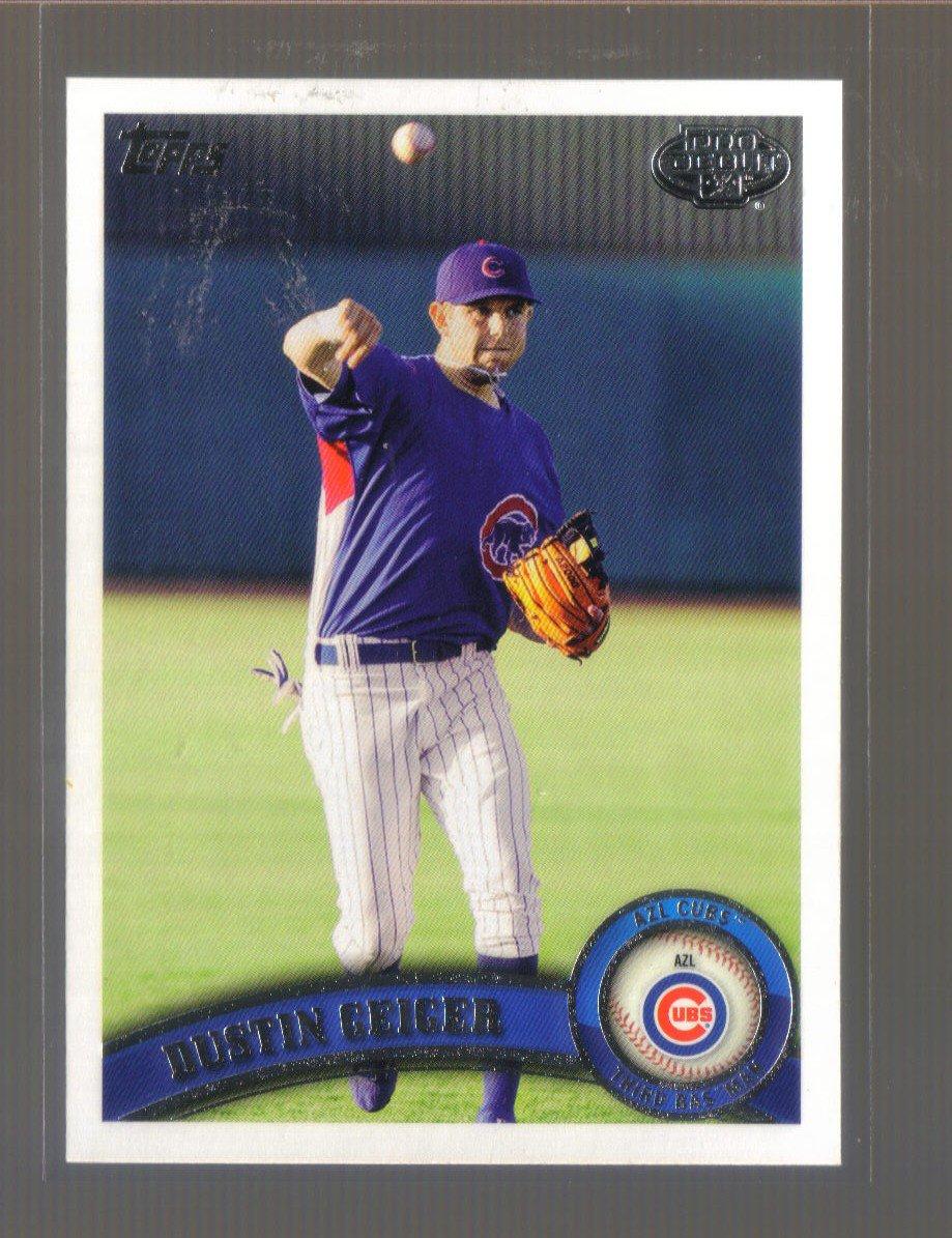 2011 Topps Pro Debut  #321  DUSTIN GEIGER   Cubs