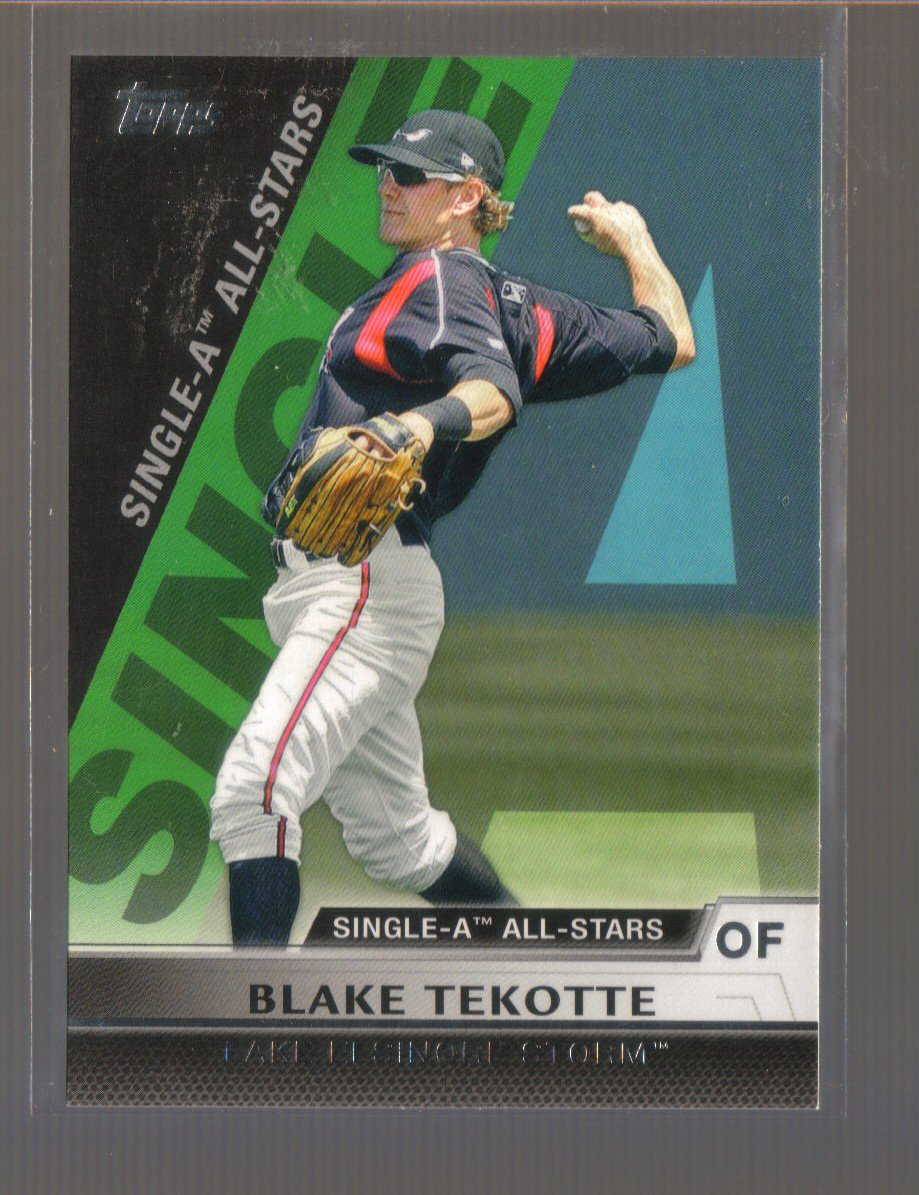 2011 Topps Pro Debut Single-A All Stars  #22  BLAKE TEKOTTE   Padres