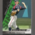 2011 Topps Pro Debut Single-A All Stars  #22  BLAKE TEKOTTE   Padres