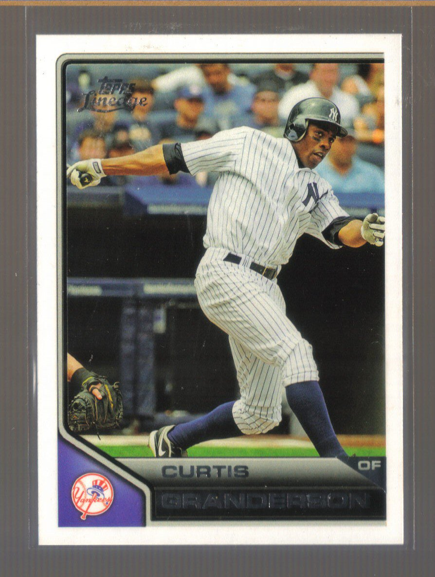 2011 Topps Lineage  #15  CURTIS GRANDERSON   Yankees