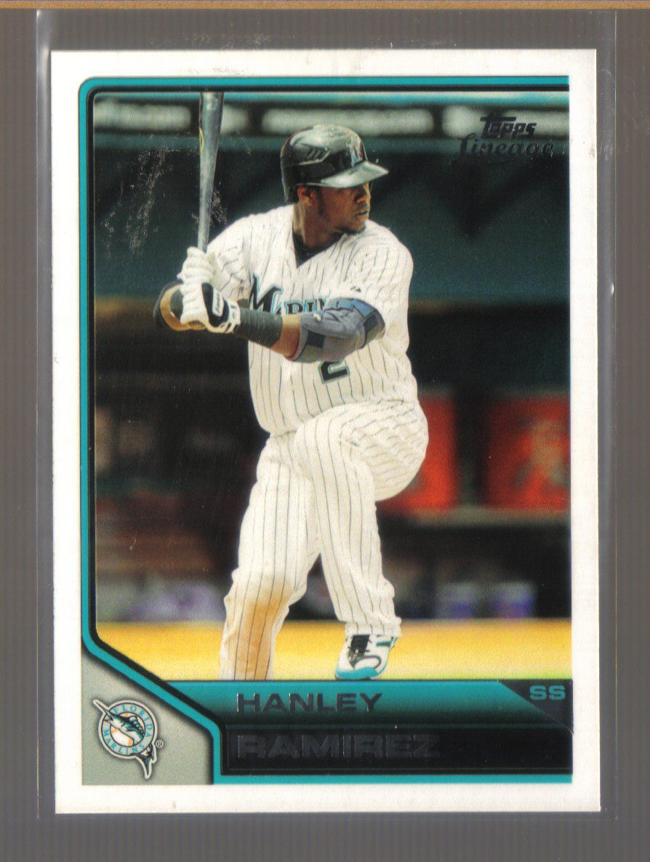 2011 Topps Lineage  #35  HANLEY RAMIREZ   Marlins
