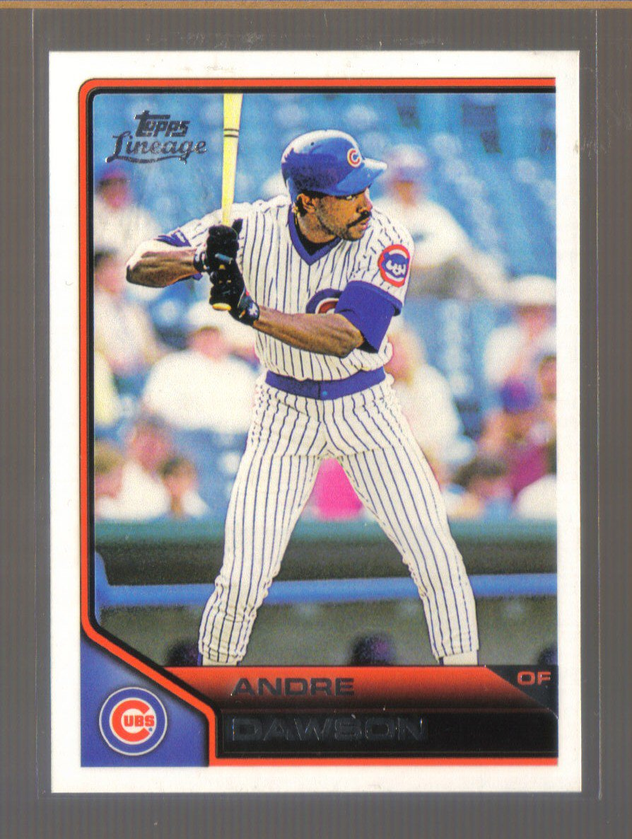 2011 Topps Lineage  #52  ANDRE DAWSON   Cubs