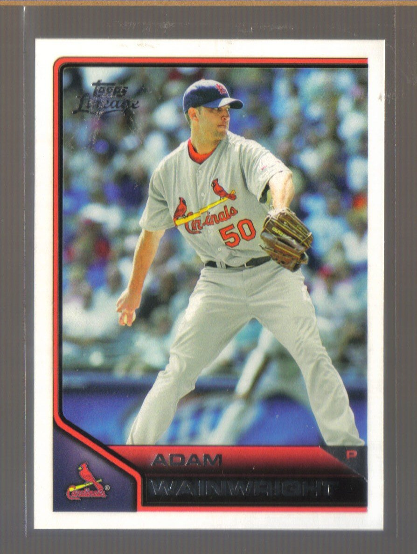 2011 Topps Lineage  #83  ADAM WAINWRIGHT   Cardinals