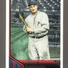 2011 Topps Lineage  #99  HONUS WAGNER   Pirates