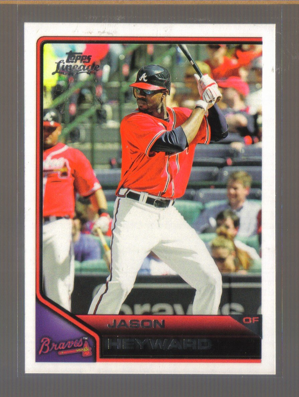 2011 Topps Lineage  #129  JASON HEYWARD    Braves