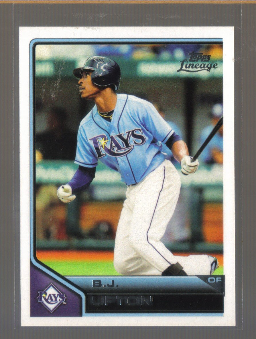 2011 Topps Lineage  #153  B.J. UPTON   Rays