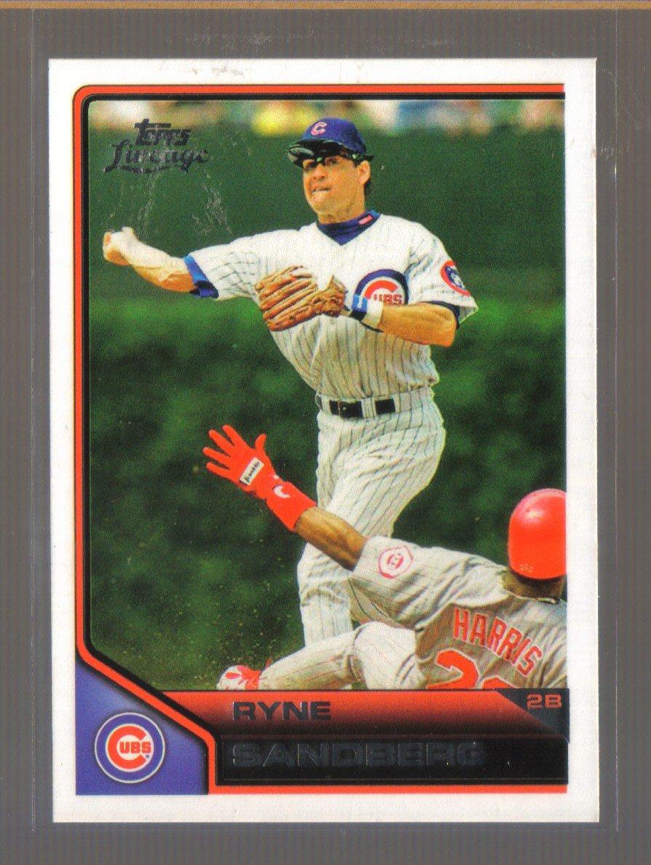 2011 Topps Lineage  #171  RYNE SANDBERG   Cubs