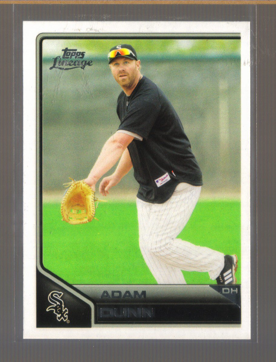 2011 Topps Lineage  #173  ADAM DUNN   White Sox