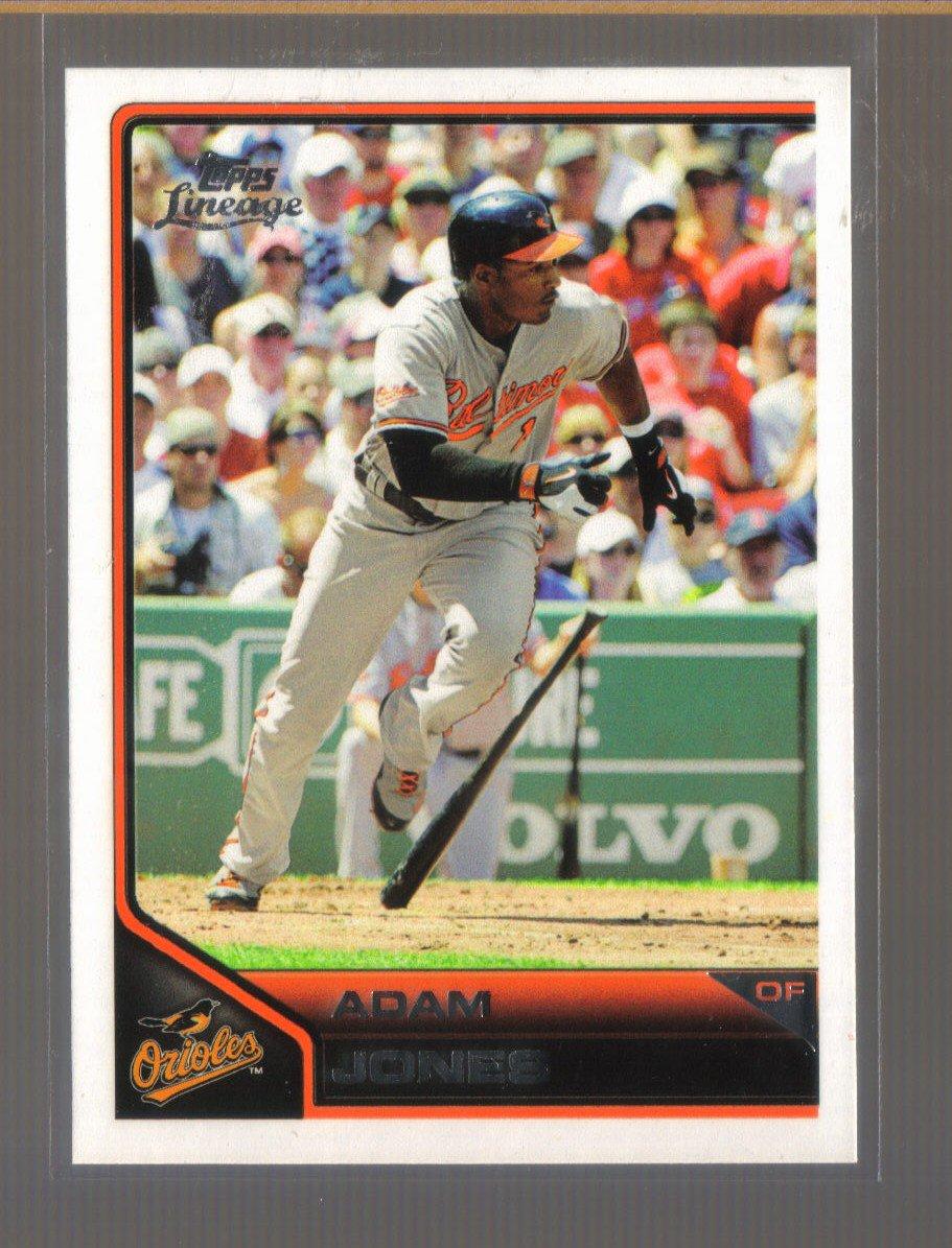 2011 Topps Lineage  #174  ADAM JONES   Orioles