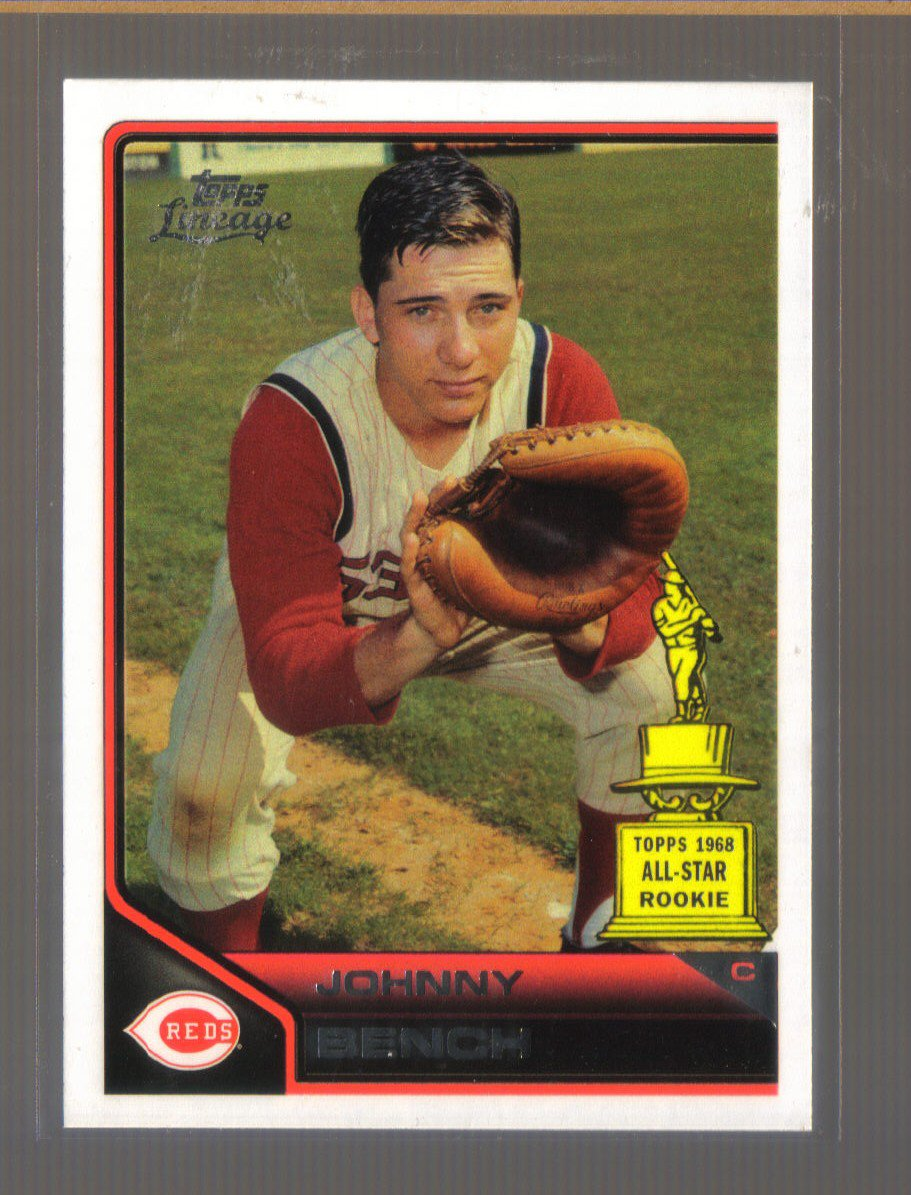 2011 Topps Lineage  #191  JOHNNY BENCH   Reds