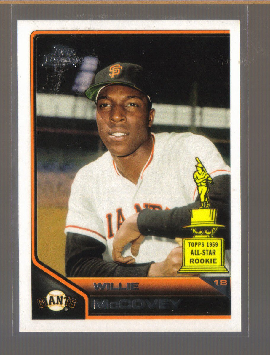 2011 Topps Lineage  #192  WILLIE McCOVEY   Giants