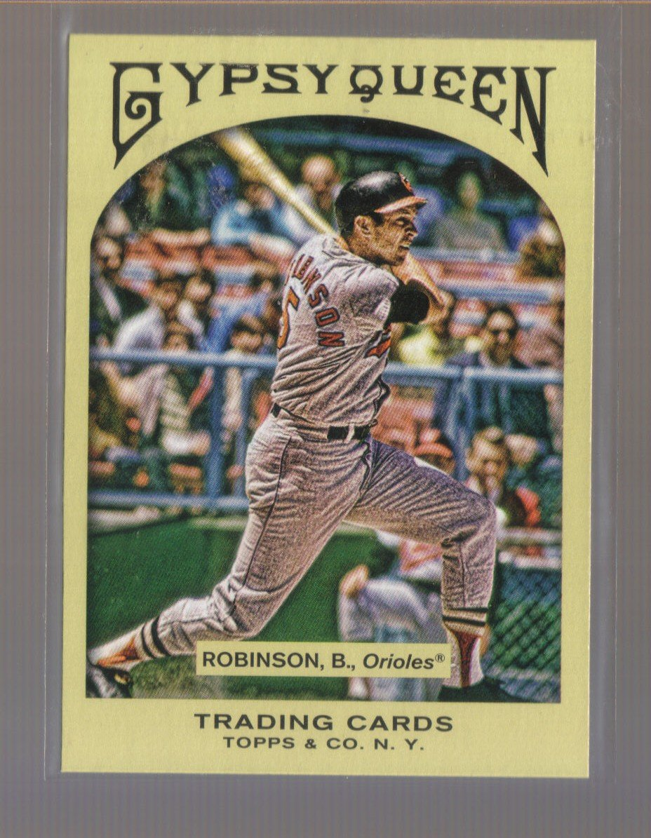 2011 Topps Gypsy Queen  #14  BROOKS ROBINSON   Orioles