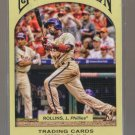2011 Topps Gypsy Queen  #47  JIMMY ROLLINS   Phillies