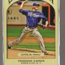 2011 Topps Gypsy Queen  #56  MAT LATOS   Padres