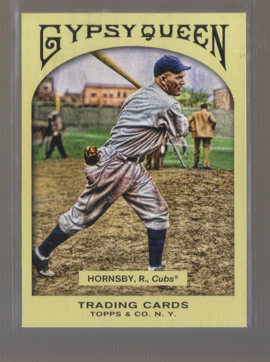 2011 Topps Gypsy Queen  #60  ROGERS HORNSBY   Cubs