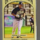 2011 Topps Gypsy Queen  #105  CHRIS CARTER   A's