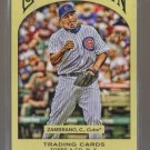 2011 Topps Gypsy Queen  #112  CARLOS ZAMBRANO   Cubs