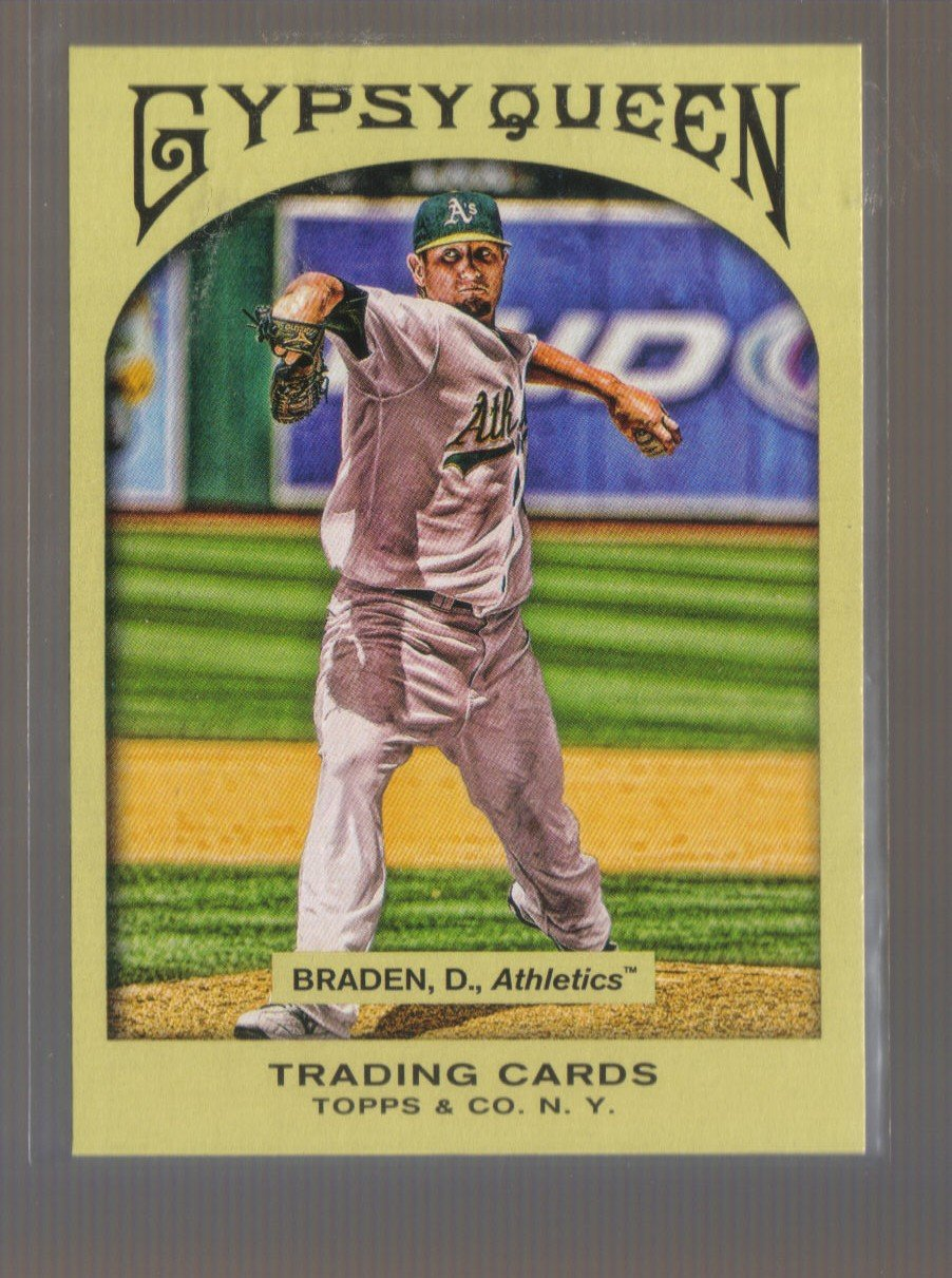 2011 Topps Gypsy Queen  #117  DALLAS BRADEN   A's