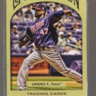 2011 Topps Gypsy Queen  #125  FRANCISCO LIRIANO    Twins