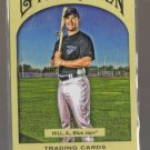2011 Topps Gypsy Queen  #129  AARON HILL   Blue Jays
