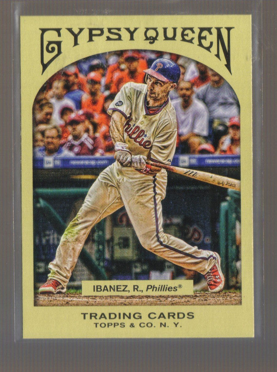 2011 Topps Gypsy Queen  #139  RAUL IBANEZ    Phillies