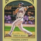 2011 Topps Gypsy Queen  #154  DAN UGGLA    Braves