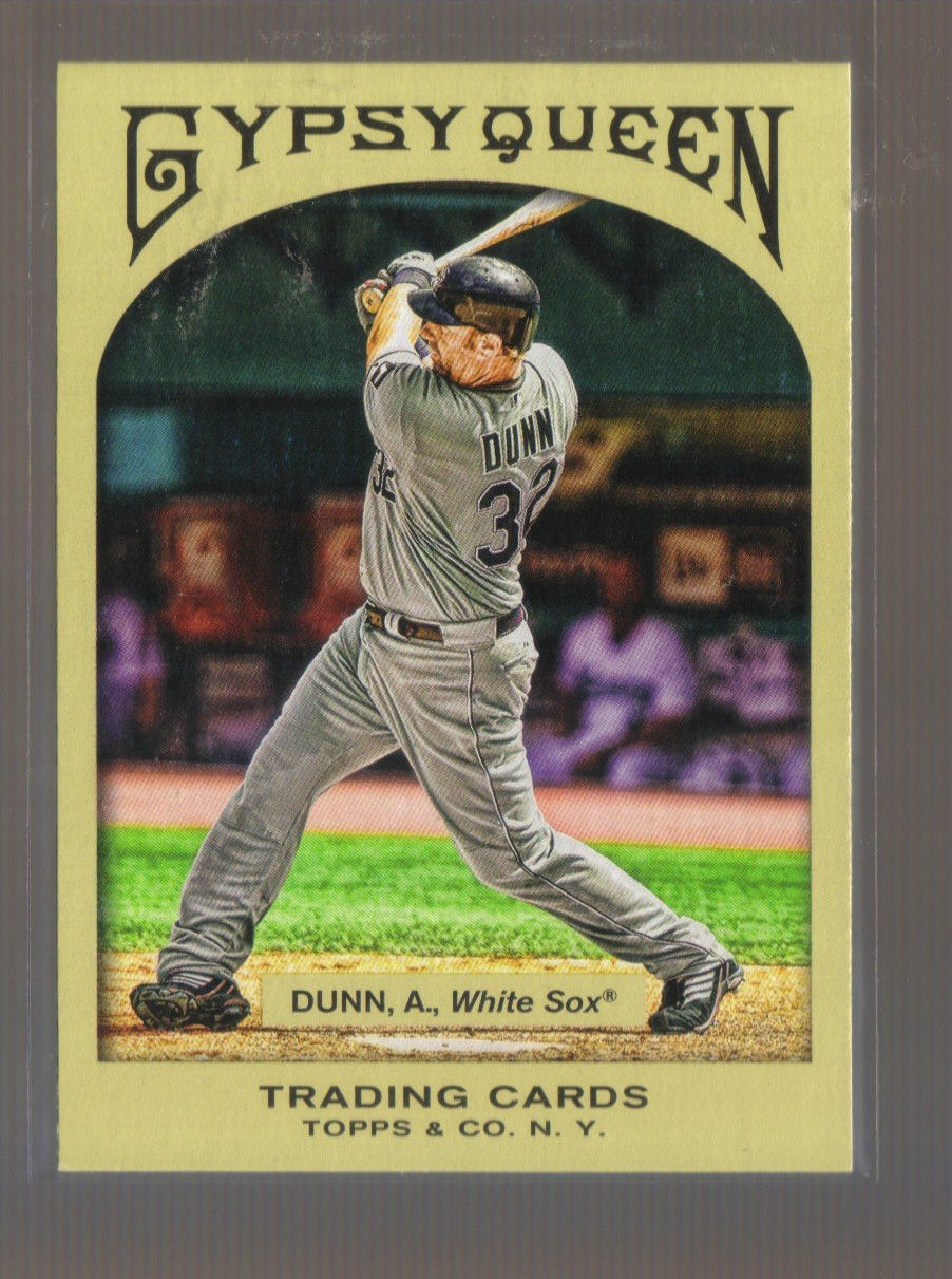 2011 Topps Gypsy Queen  #173  ADAM DUNN   White Sox