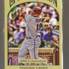 2011 Topps Gypsy Queen  #184  GERARDO PARRA   Diamondbacks