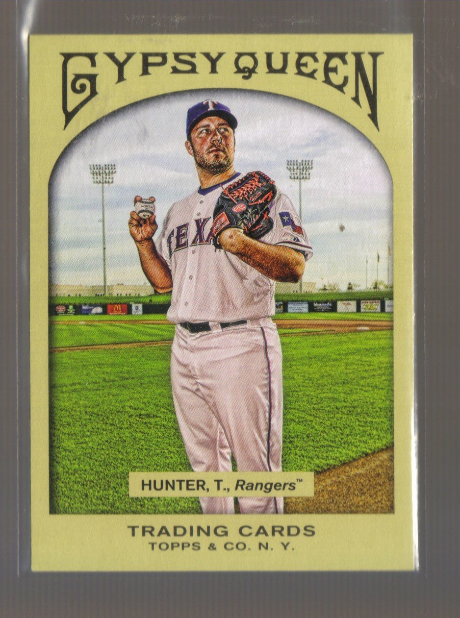 2011 Topps Gypsy Queen  #186  TOMMY HUNTER   Rangers
