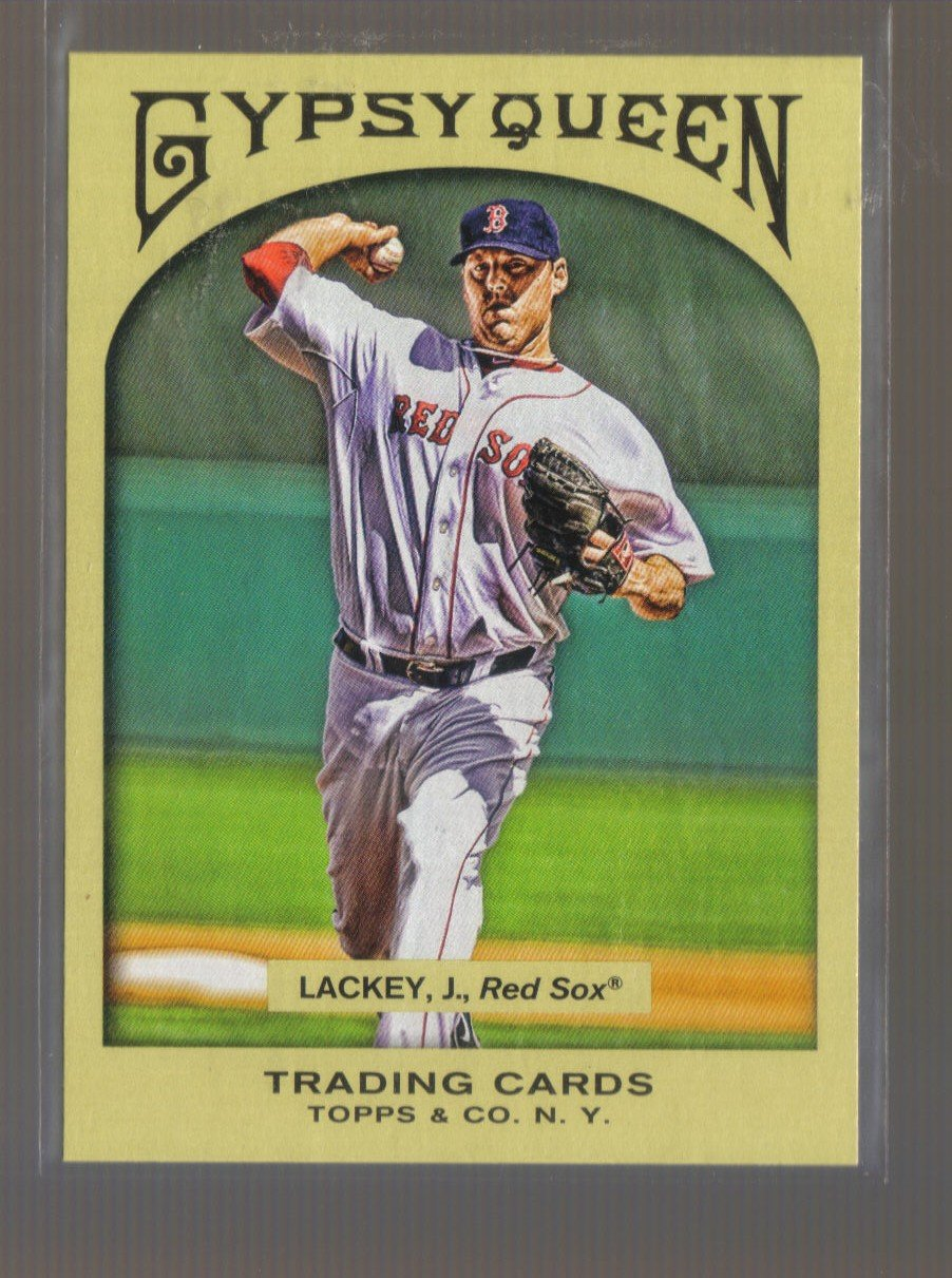 2011 Topps Gypsy Queen  #200  JOHN LACKEY    Red Sox