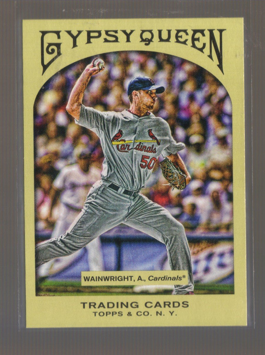 2011 Topps Gypsy Queen  #202  ADAM WAINWRIGHT    Cardinals