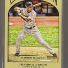 2011 Topps Gypsy Queen  #208  MIKE STANTON    Marlins