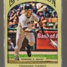 2011 Topps Gypsy Queen  #210  AARON ROWAND    Giants