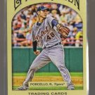 2011 Topps Gypsy Queen  #213  RICK PORCELLO    Tigers