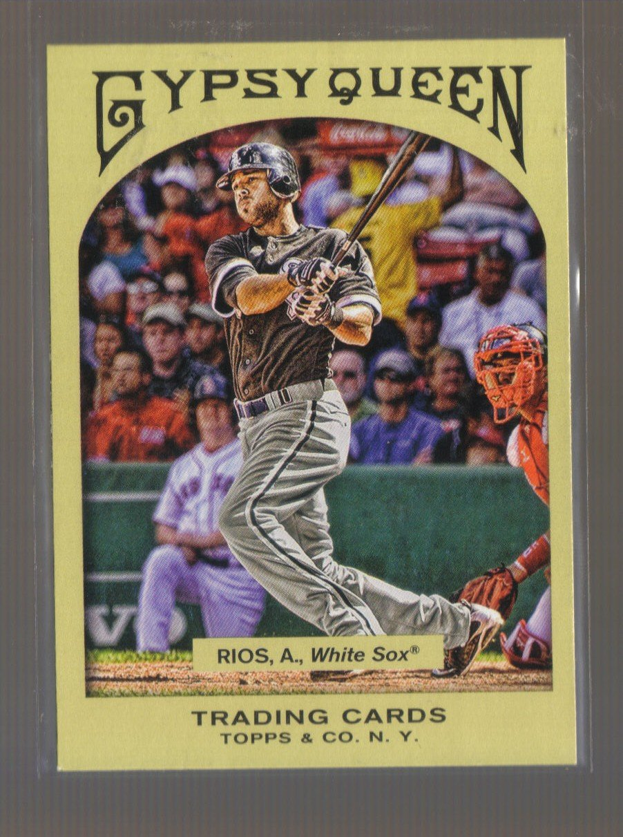 2011 Topps Gypsy Queen  #236  ALEX RIOS    White Sox