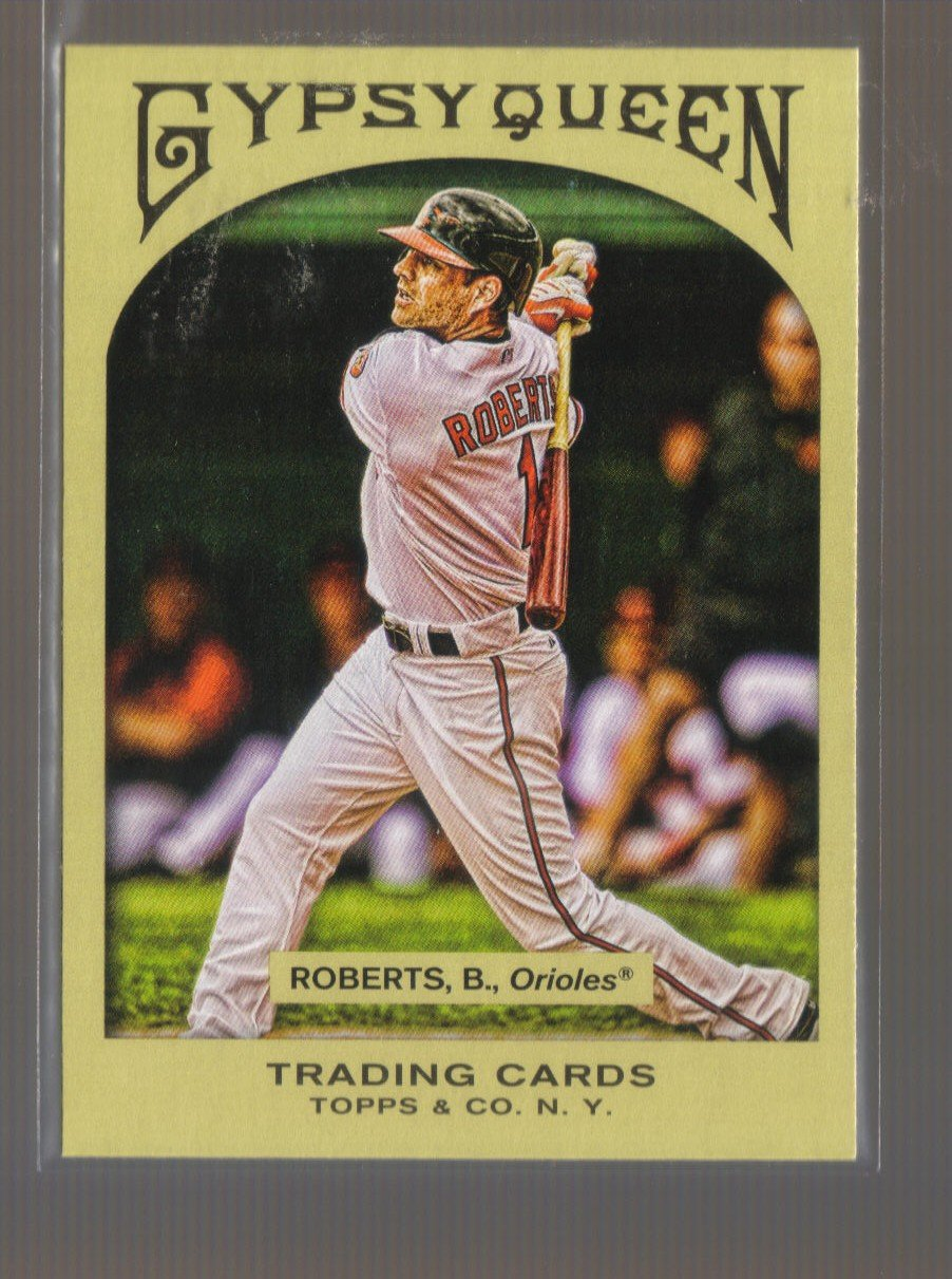 2011 Topps Gypsy Queen  #241  BRIAN ROBERTS    Orioles