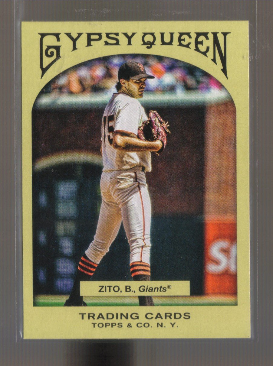 2011 Topps Gypsy Queen  #255  BARRY ZITO    Giants