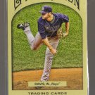 2011 Topps Gypsy Queen  #256  WADE DAVIS    Rays