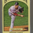 2011 Topps Gypsy Queen  #261  DANIEL BARD    Red Sox