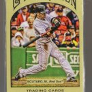 2011 Topps Gypsy Queen  #262  MARCO SCUTARO    Red Sox