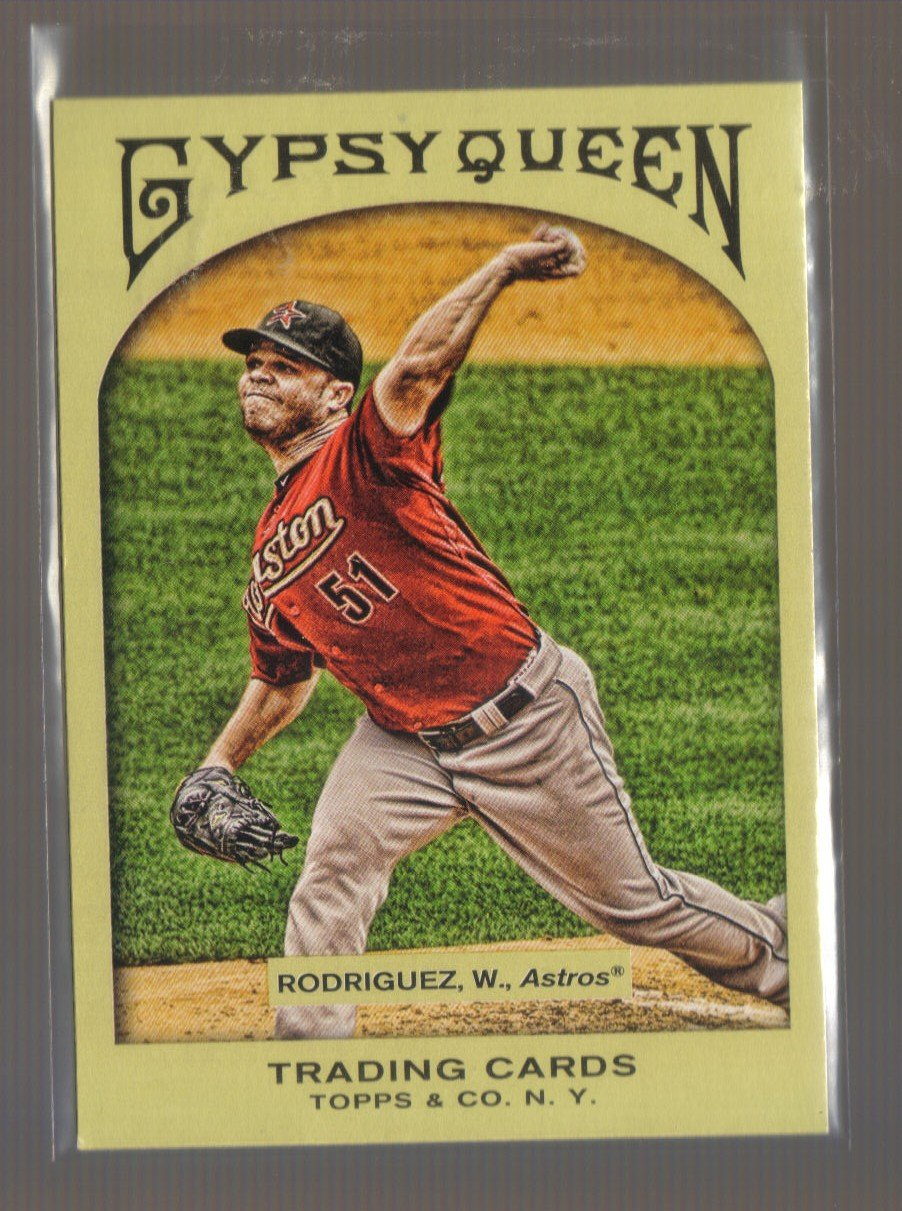 2011 Topps Gypsy Queen  #268  WANDY RODRIGUEZ    Astros