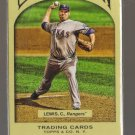 2011 Topps Gypsy Queen  #285  COLBY LEWIS    Rangers