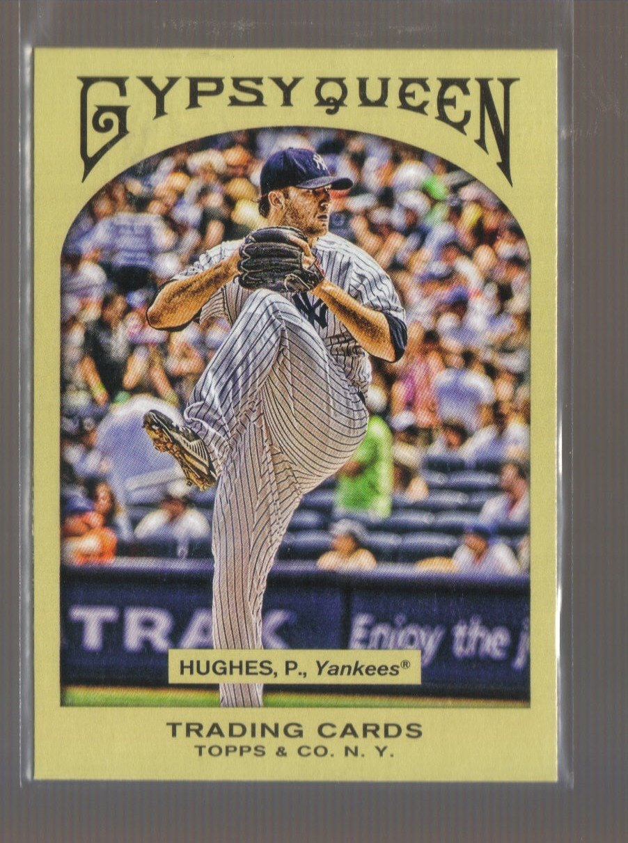 2011 Topps Gypsy Queen  #295  PHIL HUGHES    Yankees