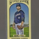 2011 Topps Gypsy Queen Mini  #140  SHAUN MARCUM    Brewers