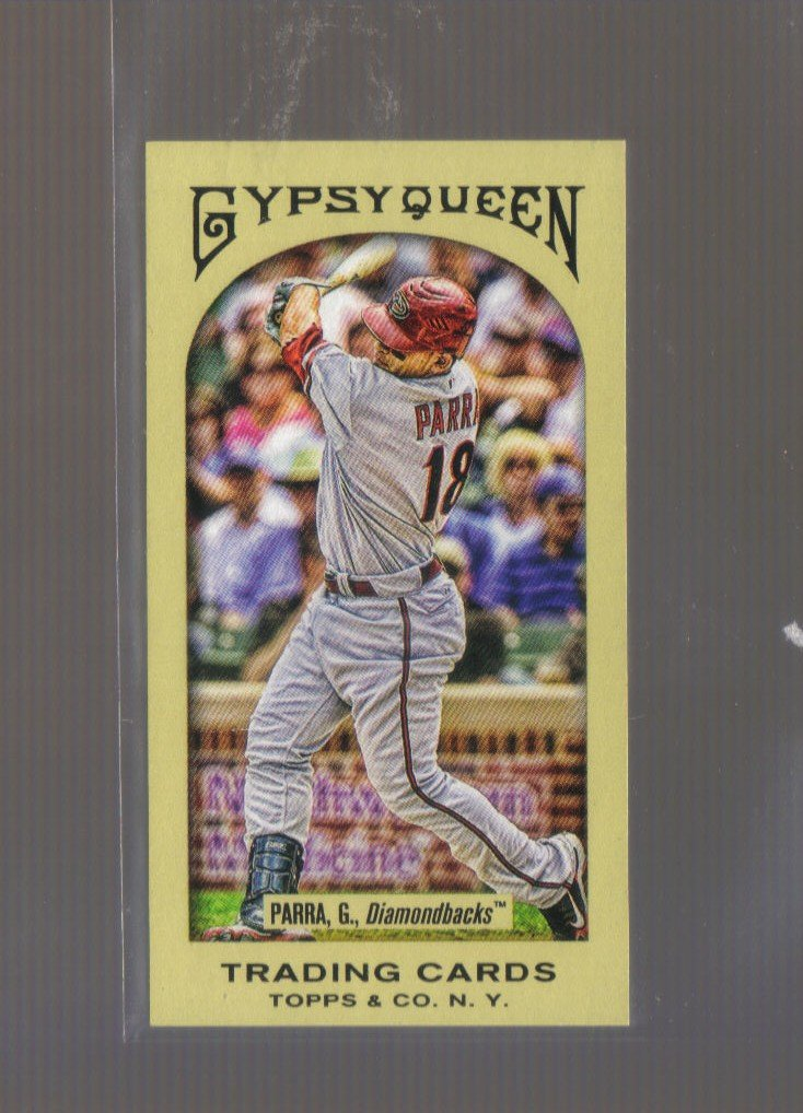 2011 Topps Gypsy Queen Mini  #184  GERARDO PARRA   Diamondbacks