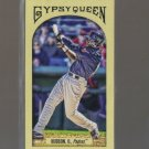 2011 Topps Gypsy Queen Mini Red Gypsy Back  #169  ORLANDO HUDSON   Padres