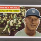2008 Topps Mantle Inserts  #64  MICKEY MANTLE   Yankees